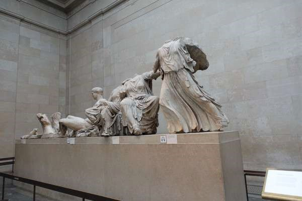 British Museum パルテノンの彫刻 Parthenon sculptures4