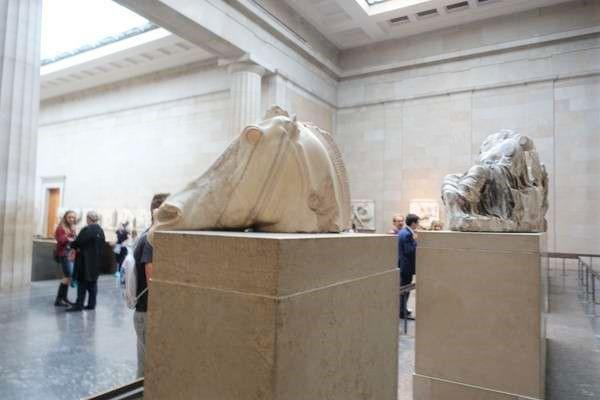 British Museum セレネの馬 Horse Of Selene2
