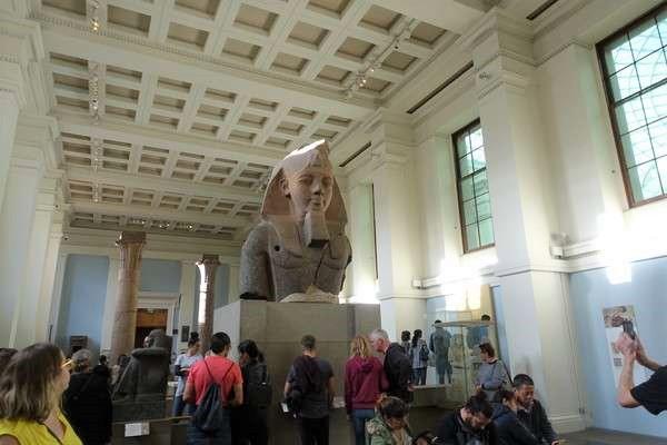 British Museum ラムセス2世の胸像 The colosal bust of Ramesses II2