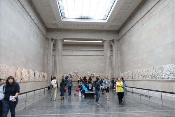 British Museum パルテノンの彫刻 Parthenon sculptures2