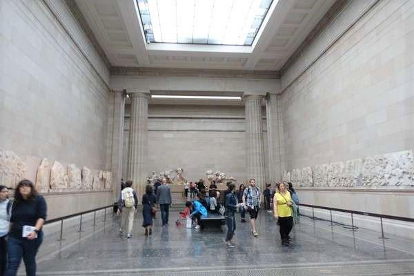 British Museum パルテノンの彫刻 Parthenon sculptures2