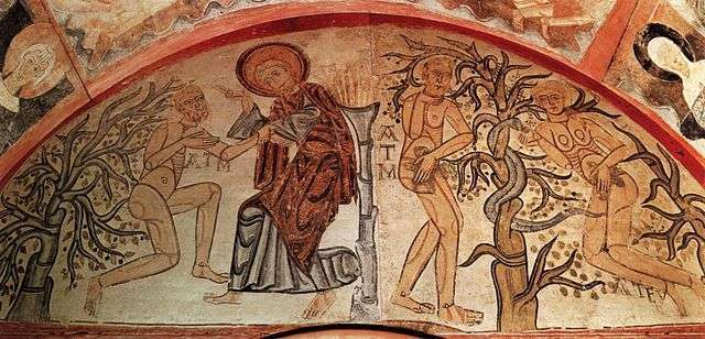 Creation Adam and the Original Sin unknown painters