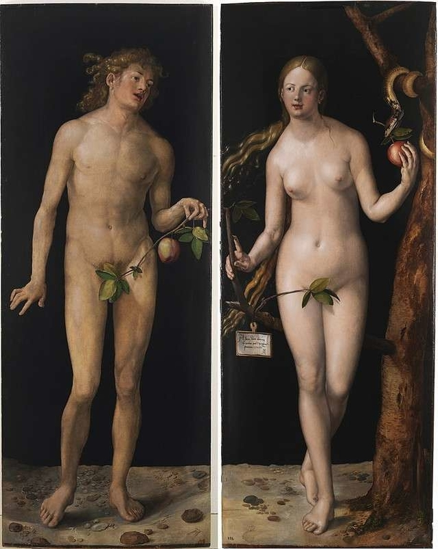 Adam and Eve Albrecht Dürer