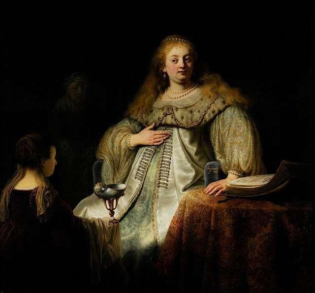 Artemisia Rembrandt van Rijn