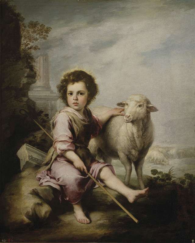 The Good Shepherd Bartolomé Esteban Murillo