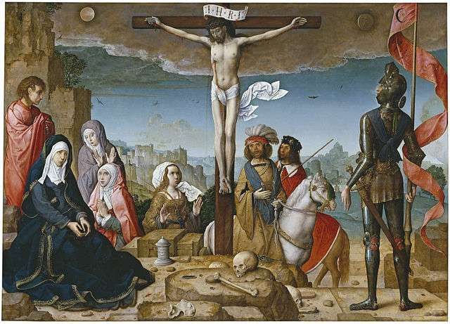 The Crucifixion Flandes, Juan de