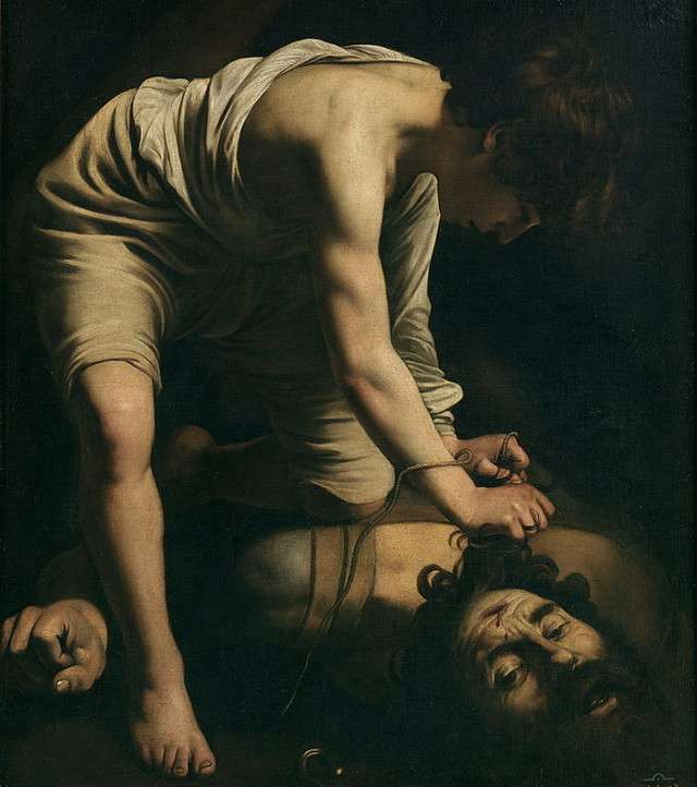 David and Goliath Caravaggio