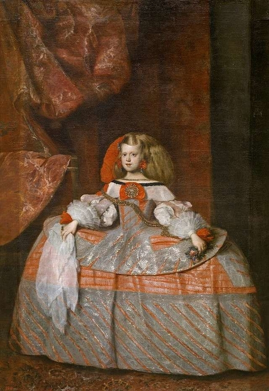 Margarita Teresa in a Pink Dress Diego Velázquez