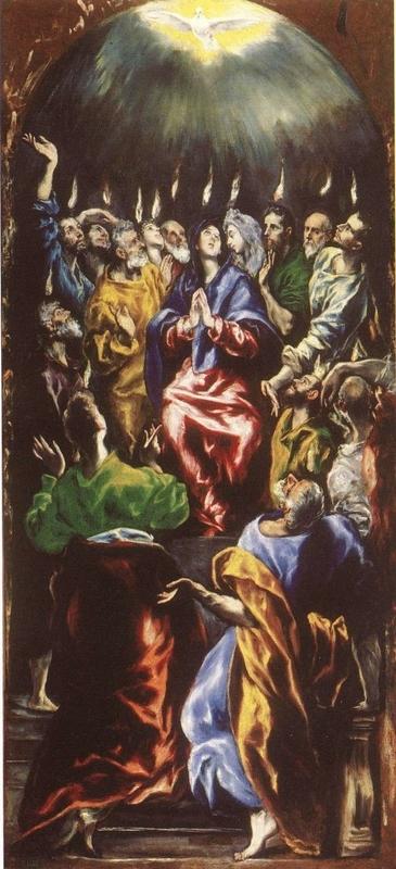 The Pentecost El Greco