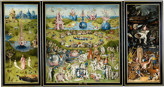 The Garden of Earthly Delights Hieronymus Bosch
