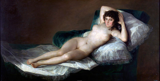 The Naked Maja Francisco de Goya