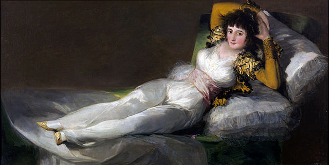 The Clothed Maja Francisco de Goya