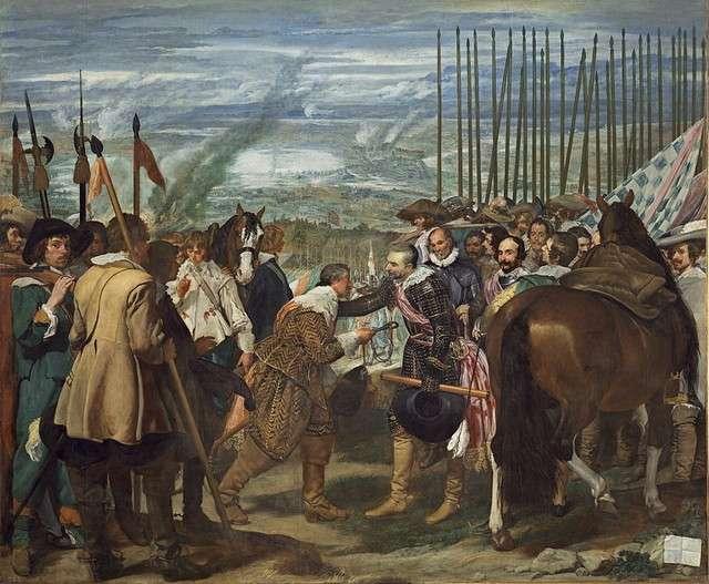 La rendición de Breda, Las lanzas Diego Velázquez