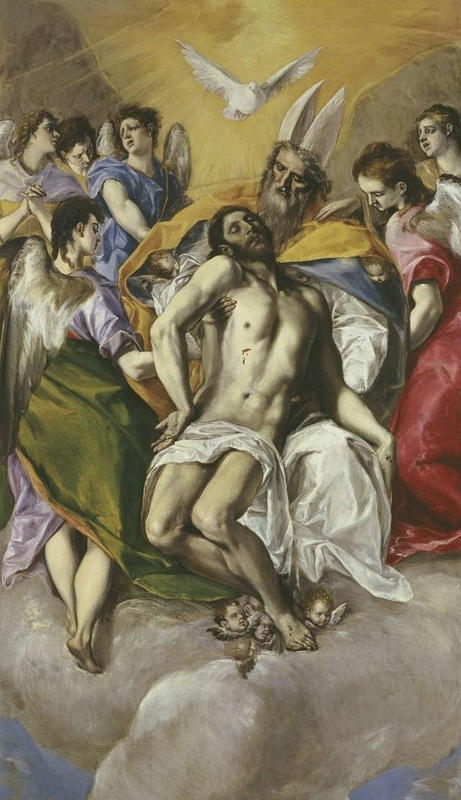 The Holy Trinity El Greco