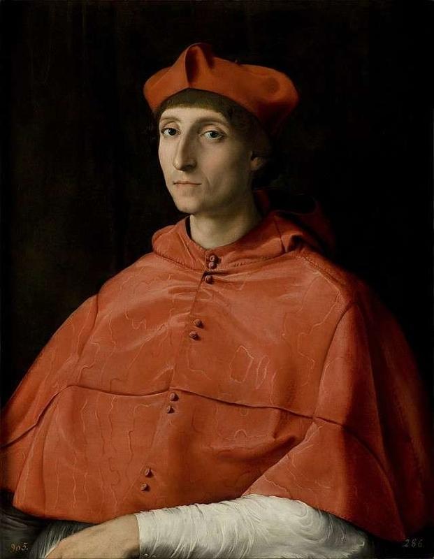 Portrait of a Cardinal Raffaello Santi
