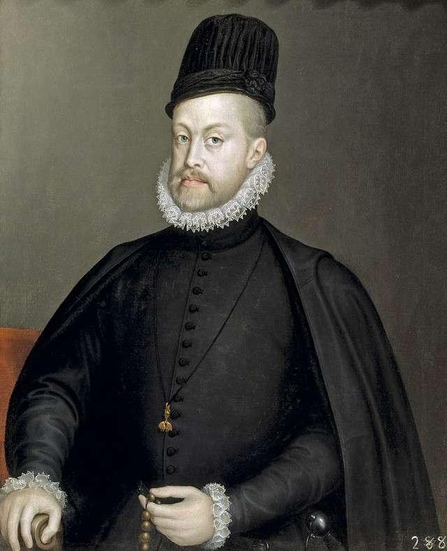 Portrait of Philipp II Sofonisba Anguissola