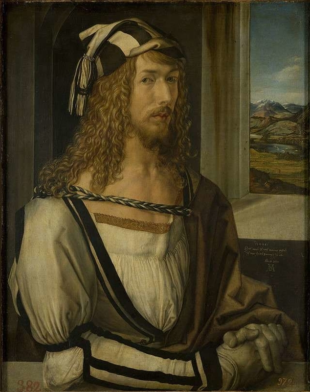 Self-portrait Albrecht Dürer
