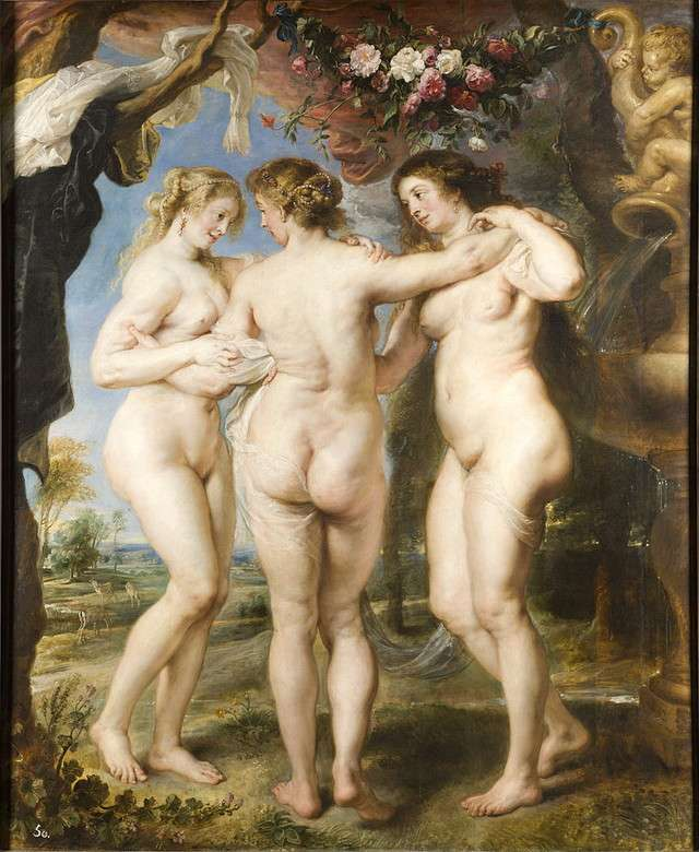 The Three Graces Peter Paul Rubens