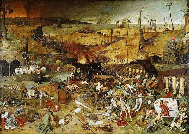 The Triumph of Death Pieter Bruegel