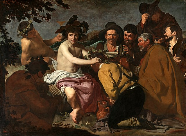 The Triumph of Bacchus Diego Velázquez