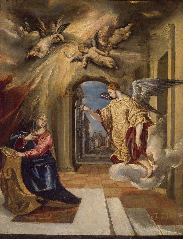 Anunciacion El Greco