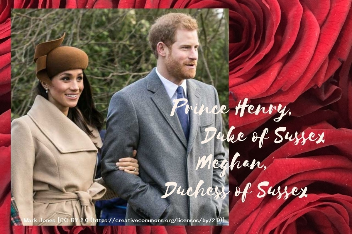 Prince Henry, Duke of Sussex Meghan, Duchess of Sussex