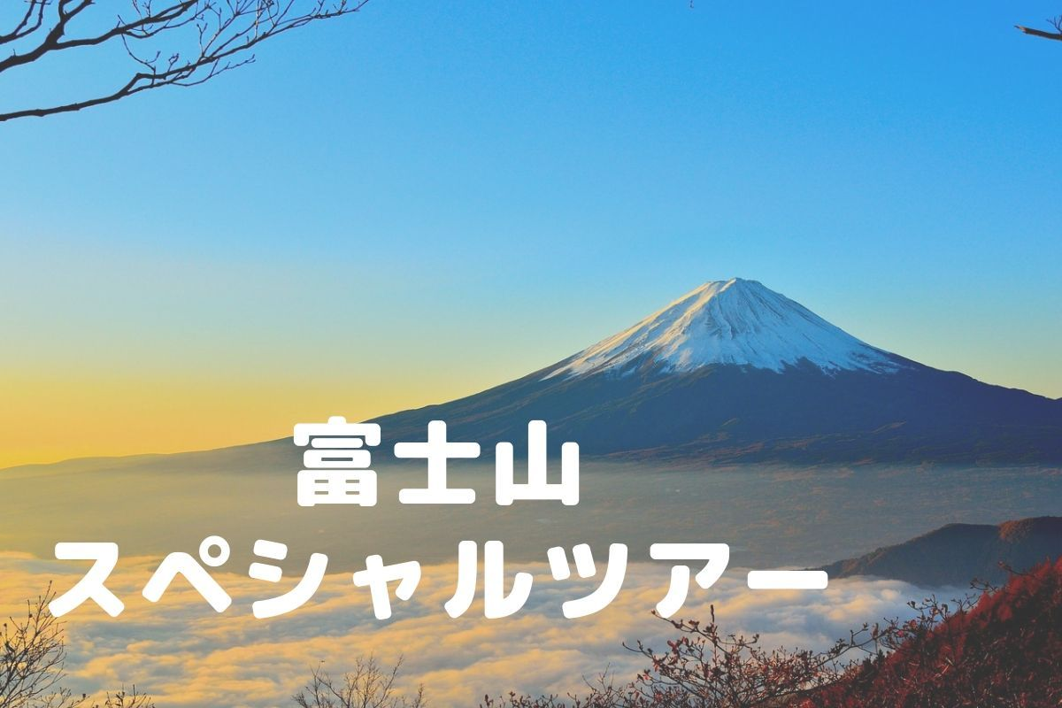 富士山スペシャルツアー