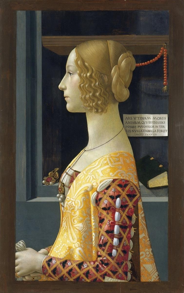 Museo de Arte Thyssen-Bornemisza Portrait of Giovanna Tornabuoni 1488