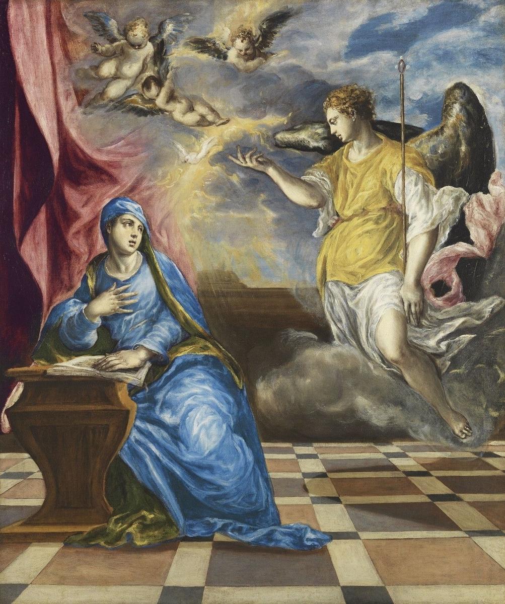 Museo de Arte Thyssen-Bornemisza The Annunciation 1576