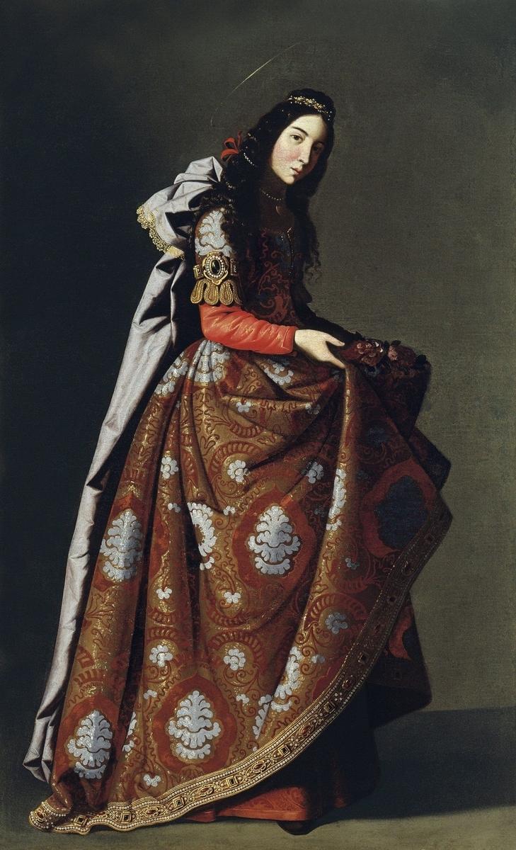 Museo de Arte Thyssen-Bornemisza Saint Casilda circa 1630-1635