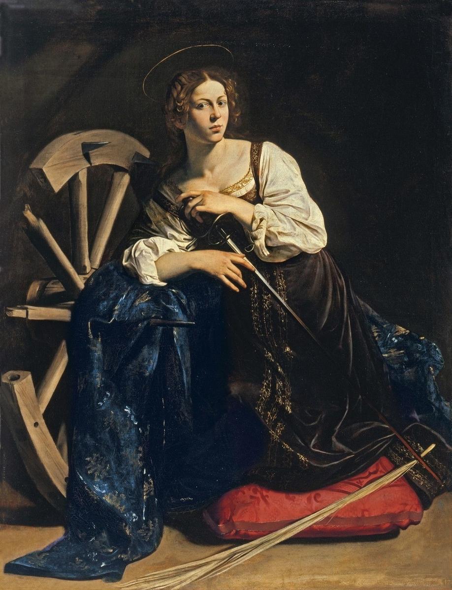 Museo de Arte Thyssen-Bornemisza Saint Catherine circa 1595-1596