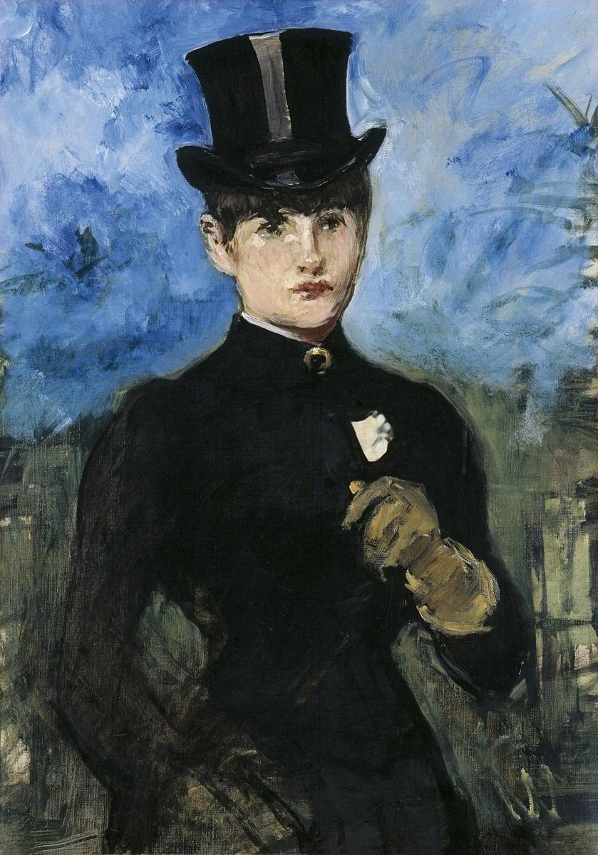 Museo de Arte Thyssen-Bornemisza Horsewoman, Fullface circa 1882