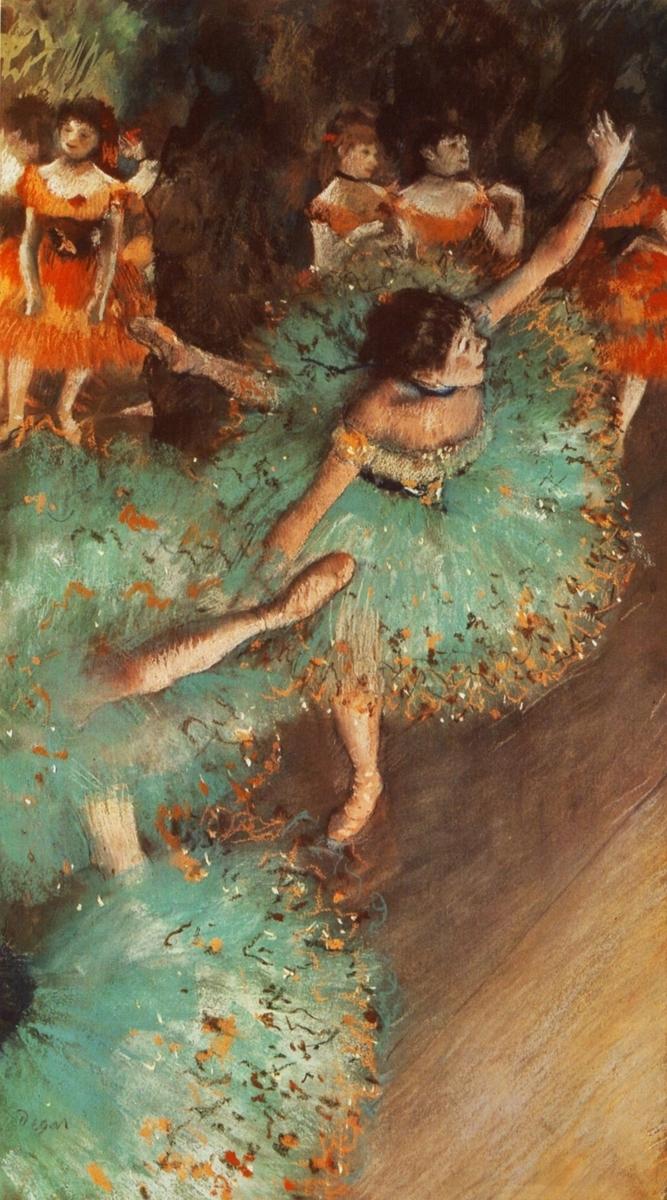Museo de Arte Thyssen-Bornemisza The Green Dancer 1879