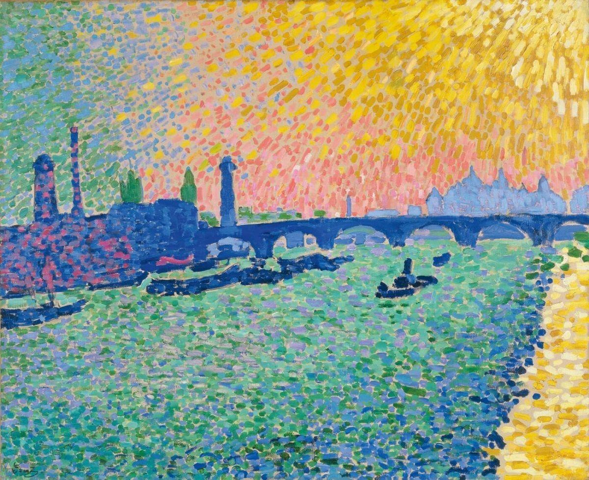 Museo de Arte Thyssen-Bornemisza Waterloo Bridge 1906