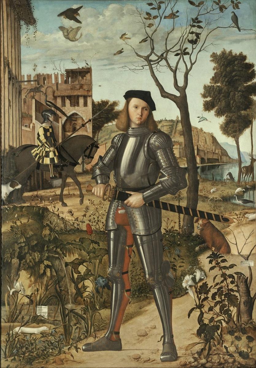 Museo de Arte Thyssen-Bornemisza Young Knight in a Landscape circa 1505