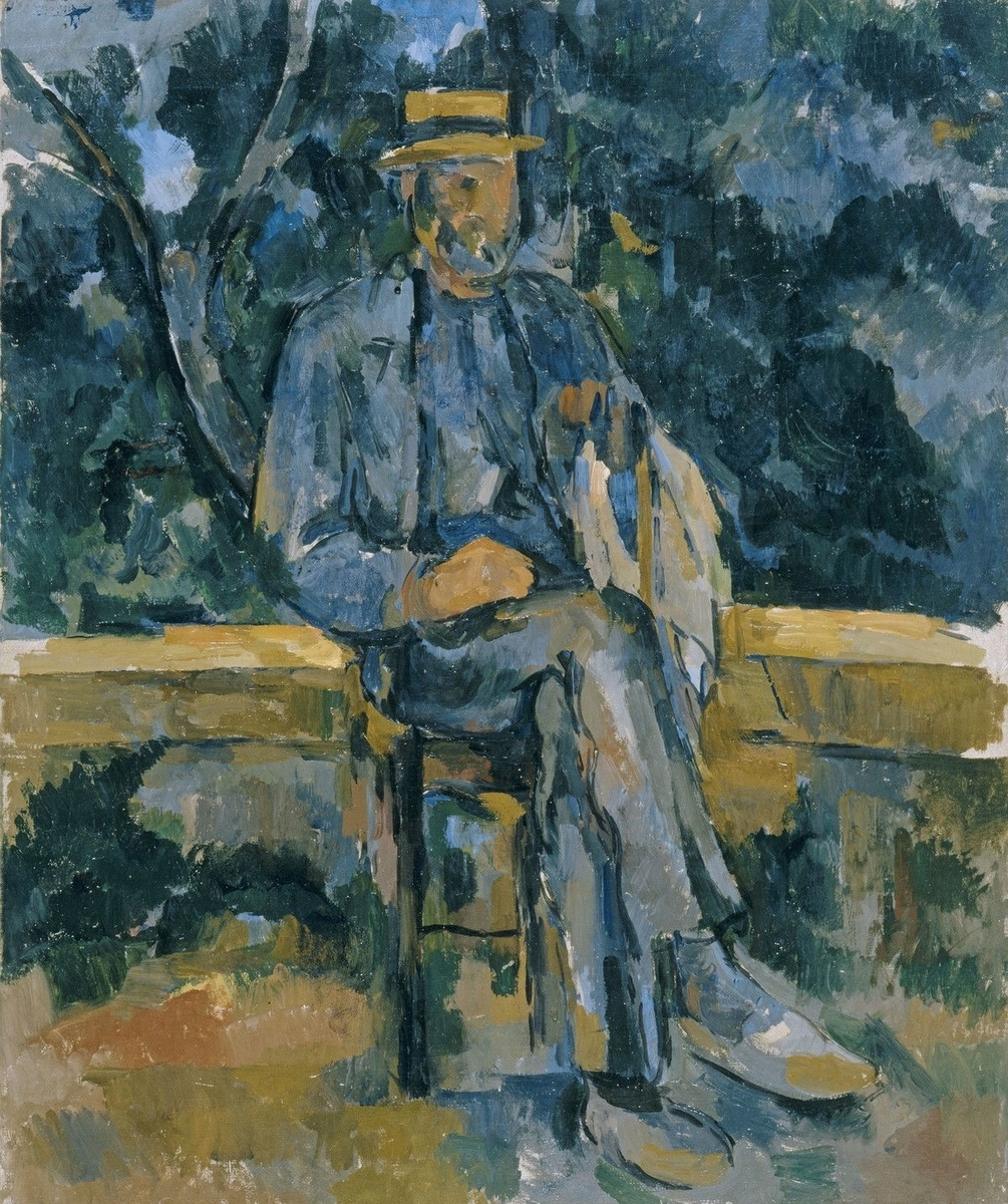 Museo de Arte Thyssen-Bornemisza Seated Man 1905-1906