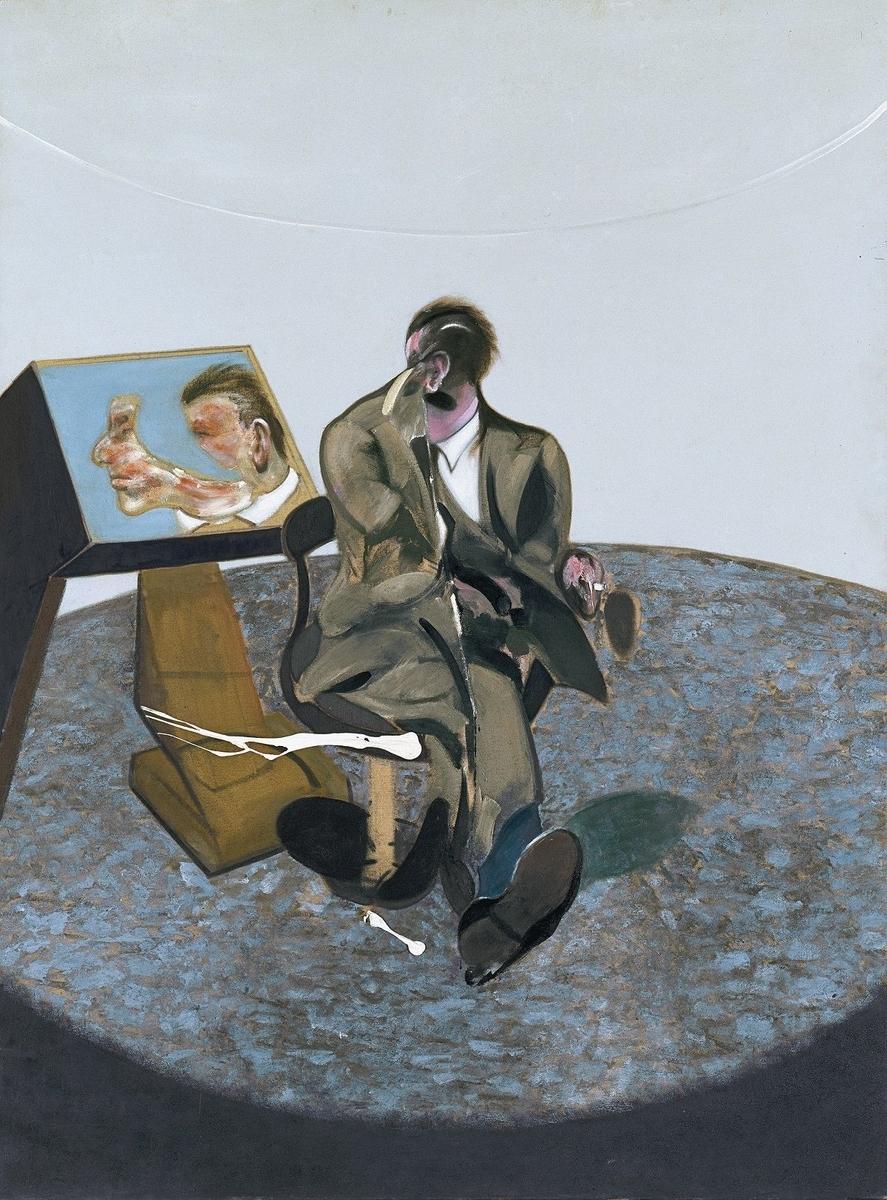 Museo de Arte Thyssen-Bornemisza Portrait of George Dyer in a Mirror 1968