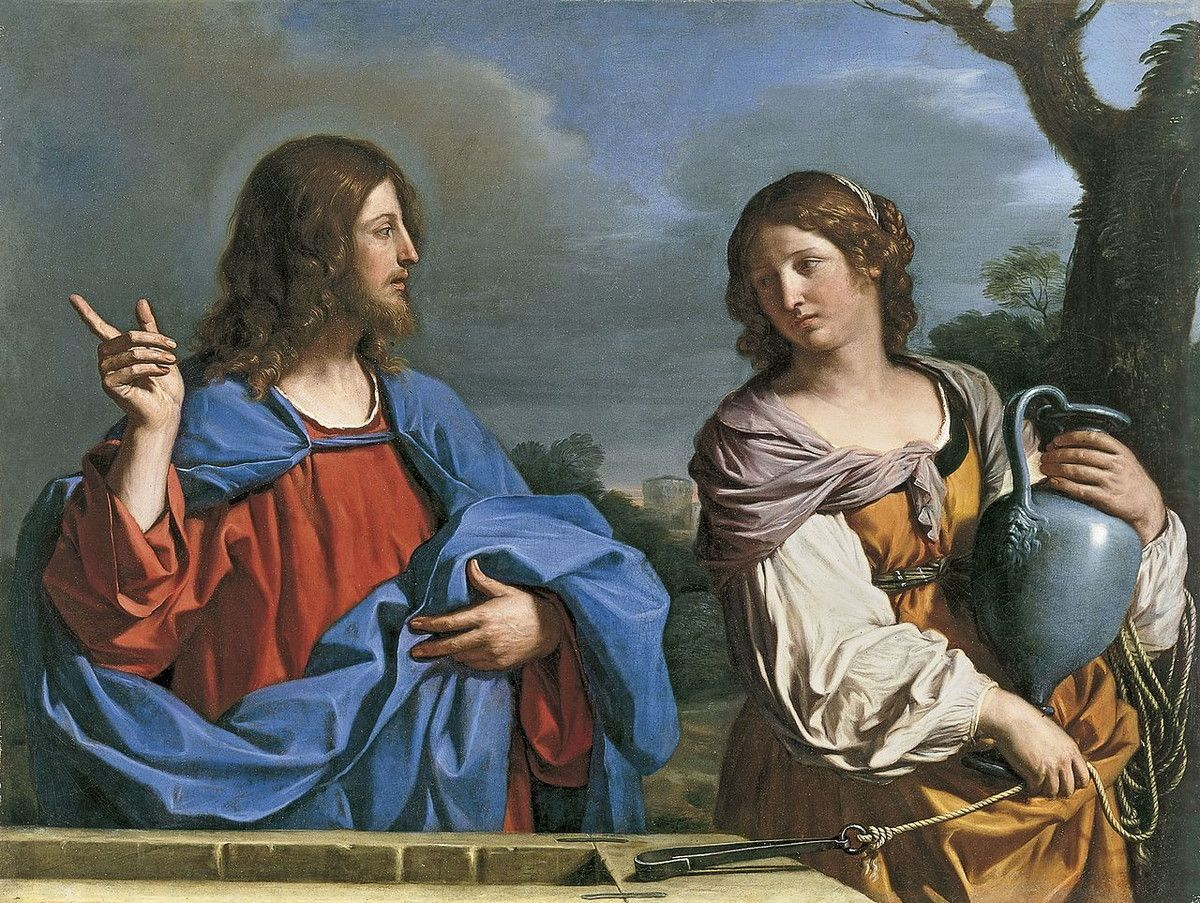 Museo de Arte Thyssen-Bornemisza Jesus and the Samaritan Woman at the Well circa 1640-1641