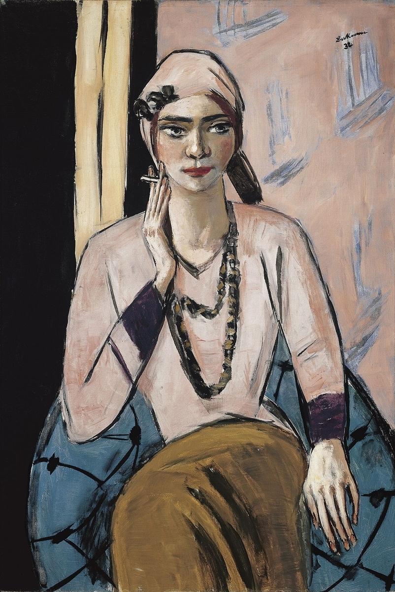 Museo de Arte Thyssen-Bornemisza Quappi in Pink Jumper 1932-1934