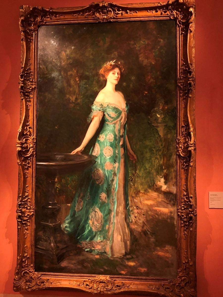 Museo de Arte Thyssen-Bornemisza Portrait of Millicent, Duchess of Sutherland 1904
