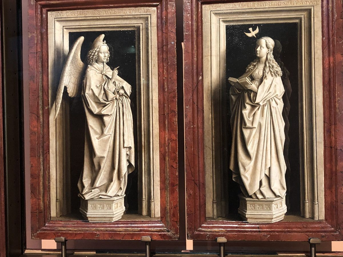 Museo de Arte Thyssen-Bornemisza The Annunciation Diptych circa 1433-1435