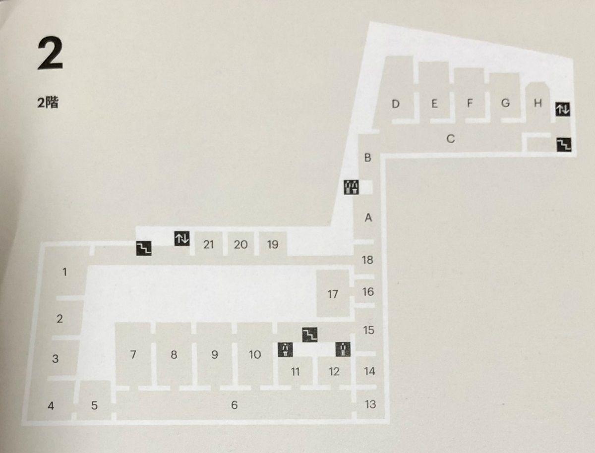 Museo de Arte Thyssen-Bornemisza floor map