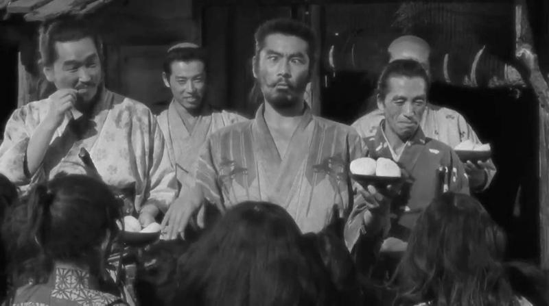 三船敏郎 七人の侍 1954