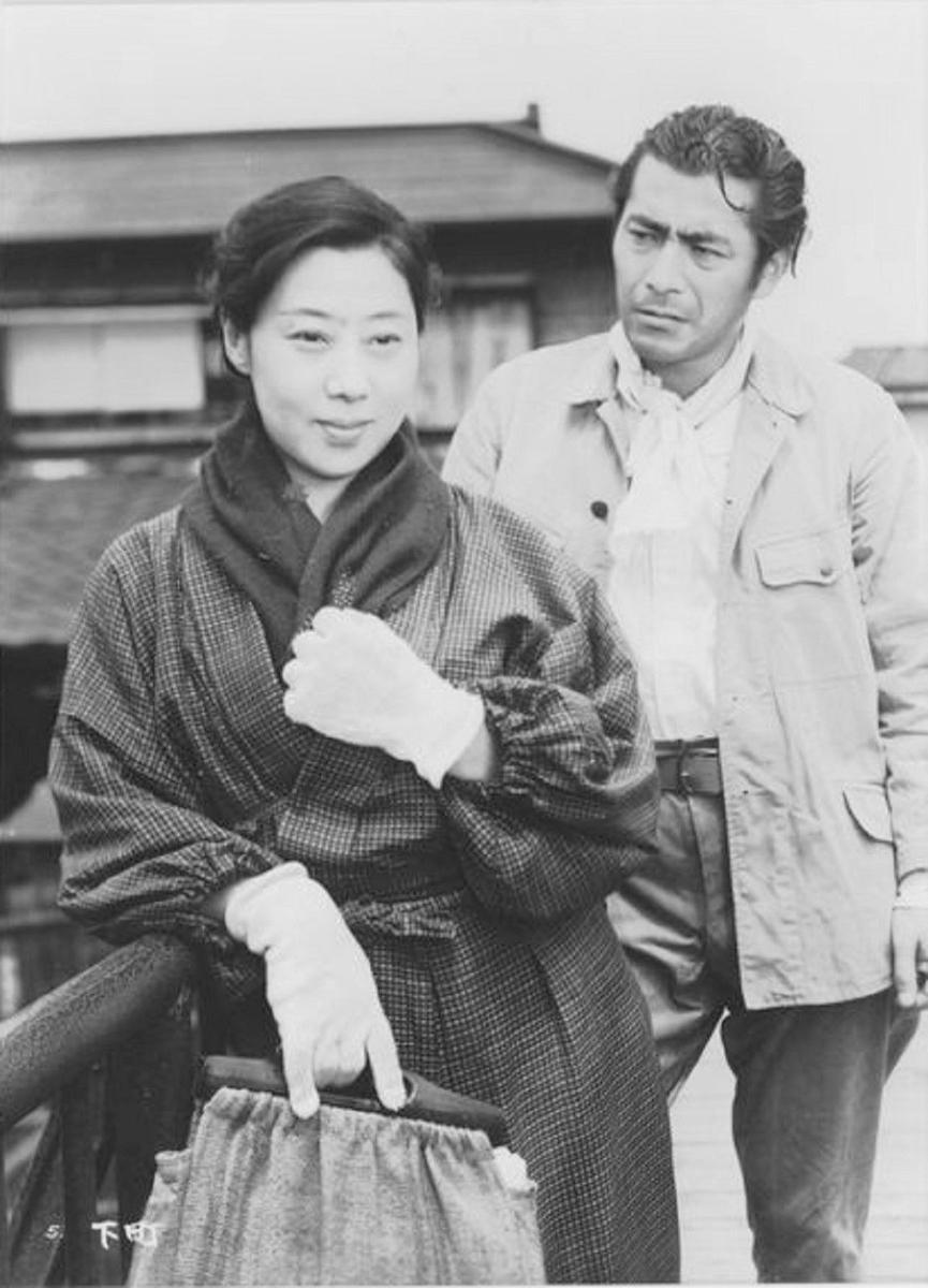 三船敏郎 下町 1957