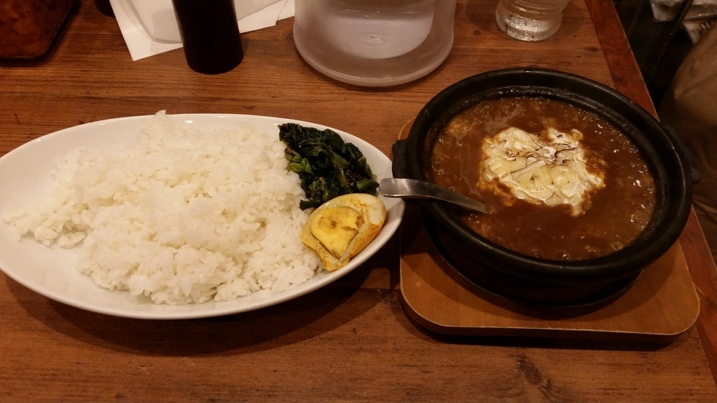 牛スジ焼きチーズカレー