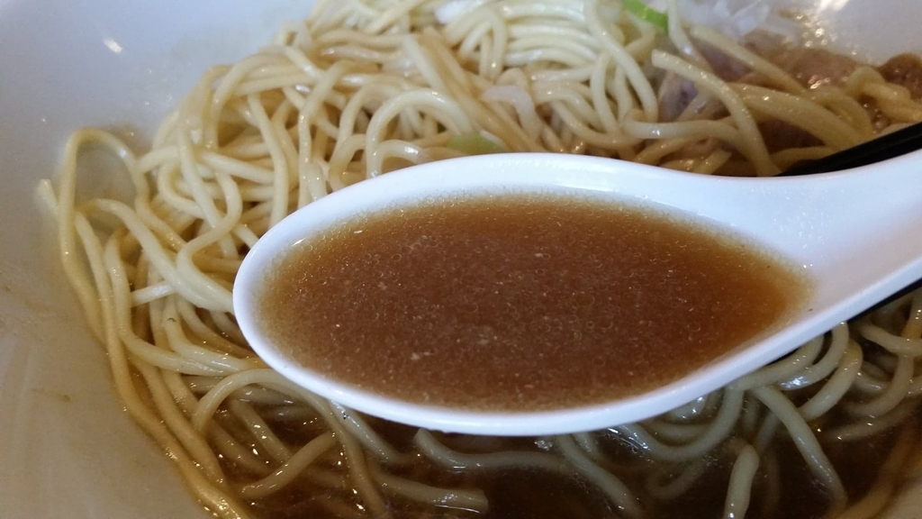 スープのアップ