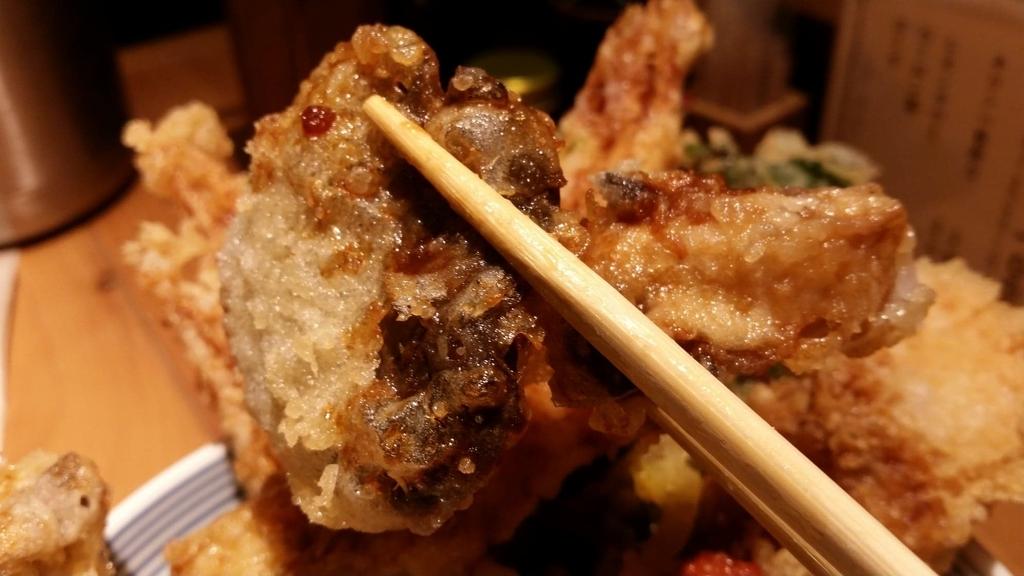ヒラタケの天ぷら