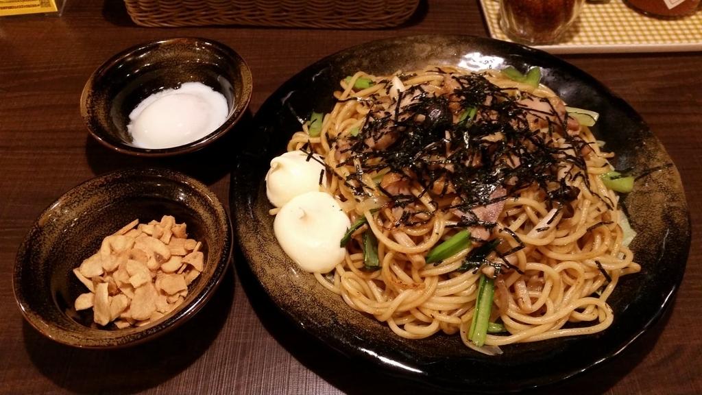上野『ロメスパバルボア』の、照り焼きチキン特盛りの写真
