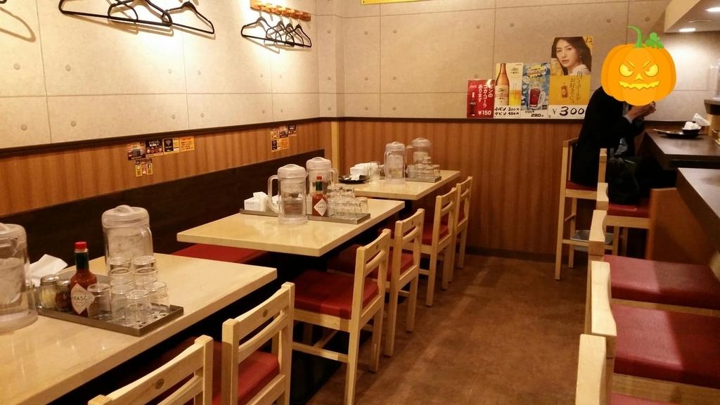 上野『ロメスパバルボア』の店内写真