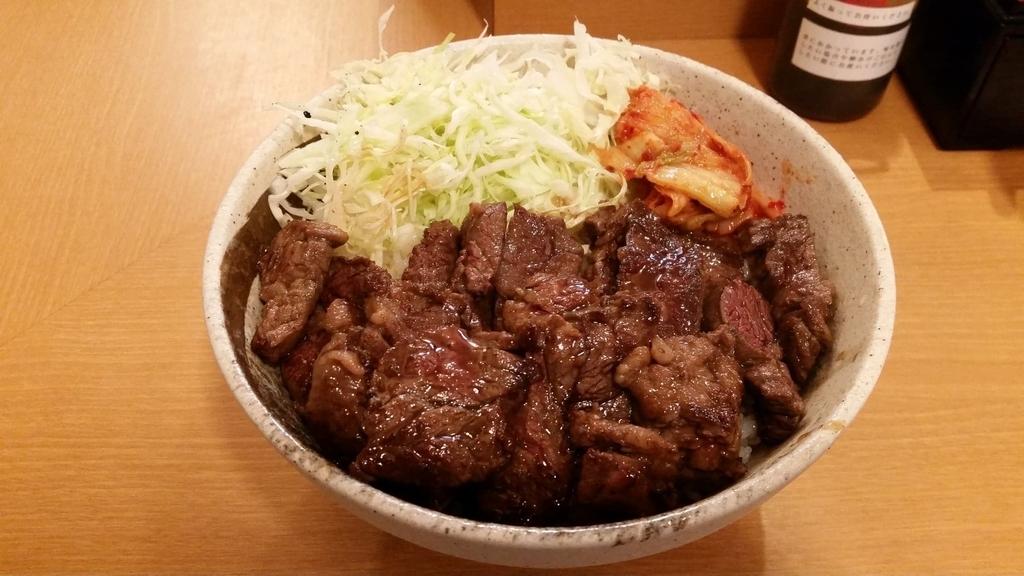 ハラミ丼肉トリプル